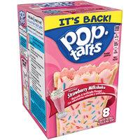 Pop-Tarts® Frosted Strawberry Milkshake Toaster Pastries 14.1 oz. Box