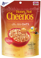 Honey Nut Cheerios™ Cereal 3.5 oz. Pouch