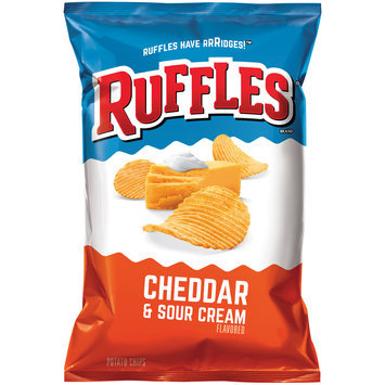 Ruffles® Cheddar & Sour Cream Potato Chips