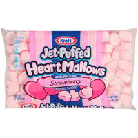 Kraft Jet-Puffed HeartMallows Strawberry Marshmallows 8 oz. Bag