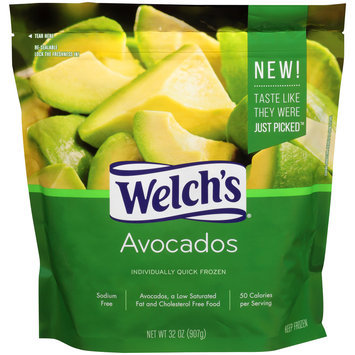 Welch's® Individually Quick Frozen Avocados 32 oz. Bag