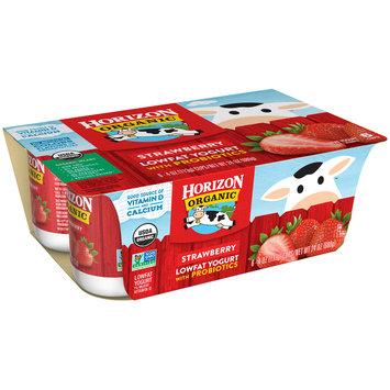 Horizon Organic® Strawberry Lowfat Yogurt 6-4 oz. Cups