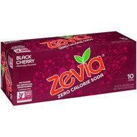Zevia® Zero Calorie Black Cherry Soda 10-12 fl. oz. Cans