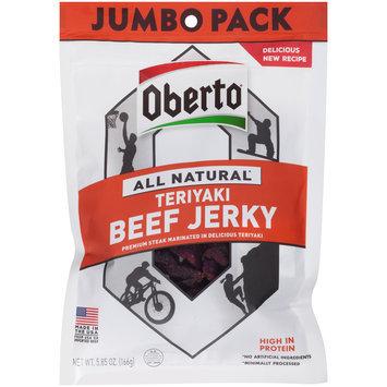 Oberto® All Natural Teriyaki Beef Jerky 5.85 oz. Pouch