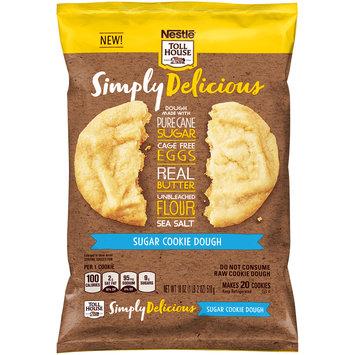 Nestle TOLL HOUSE Simply Delicious Sugar Cookie Dough 18 oz. Bar