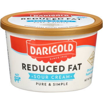 Darigold® Reduced Fat Sour Cream 16 oz. Tub