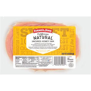 Farmer John® California Natural® Uncured Honey Ham 8 oz. Pack