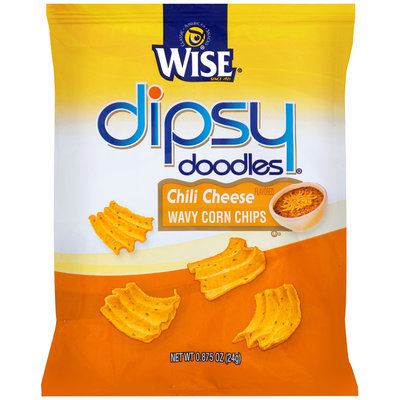 Wise Dipsy Doodles Chili Cheese Wavy Corn Chips