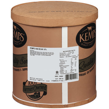 Kemps® 16% Vanilla Bean Ice Cream 3 gal. Tub