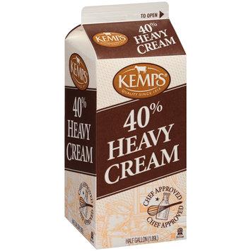 Kemps® 40% Heavy Cream .5 gal. Carton