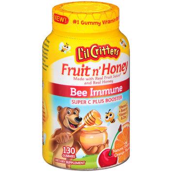L'il Critters™ Fruit n' Honey Bee Immune Dietary Supplement Gummies 130 ct Bottle