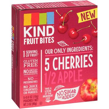 Kind® Cherries Apple Fruit Bites 5-0.6 oz Pouches