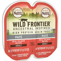 Nutro™ Wild Frontier™ Ancestral Inspired Pate Real Salmon Recipe Adult Cat Food 2-1.32 oz. Trays