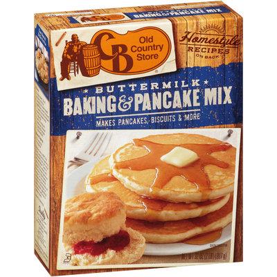 BC Old Country Store® Buttermilk Baking & Pancake Mix 32 oz. Box