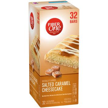 Fiber One Salted Caramel Cheesecake Bars