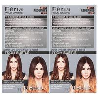 L'Oreal® Paris Feria® Wild Ombre O60 for Medium to Dark Brown Hair Color 2-1 Kit Boxes