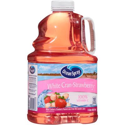 Ocean Spray® White Cran-Strawberry™ Juice Drink 3 L Jug