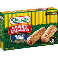 Nathan's® Famous Coney Island Beef Bagel Hot Dogs 20 oz. Box