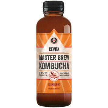 Kevita® Kombucha™ Master Brew Ginger Live Probiotic Drink 15.2 fl. oz. Bottle