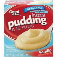 Great Value™ Vanilla Instant Pudding 1.34 oz. Box