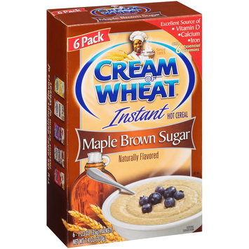 Cream of Wheat® Instant Maple Brown Sugar Hot Cereal 6-1.23 oz. Bag