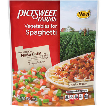 Pictsweet® Farms Vegetables for Spaghetti 8 oz. Stand Up Bag