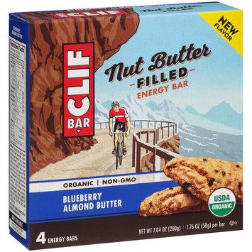 CLIF Bar® Nut Butter Filled Blueberry Almond Butter Energy Bar 4–1.76 oz. Box