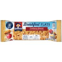 Quaker® Breakfast Flats Cranberry Almond Crispy Snack Bars