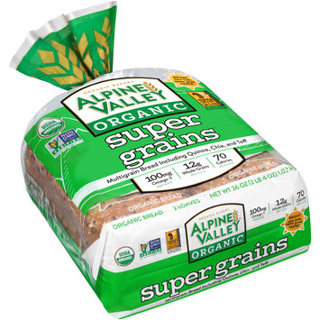 Alpine Valley™ Organic Super Grains™ Bread 2-18 oz. Bag