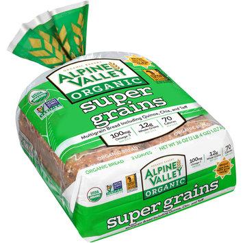 Alpine Valley™ Organic Super Grains™ Bread 2-18 oz. Bag