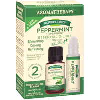 Nature's Truth® Aromatherapy Peppermint + Spearmint Essential Oil Kit 0.84 fl. oz. Box
