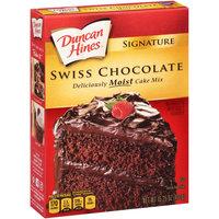 Duncan Hines® Signature Swiss Chocolate Cake Mix 15.25 oz. Box