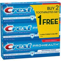 Crest Pro-Health Whitening Power Toothpaste, 3.3 oz, Buy 2 Get 1