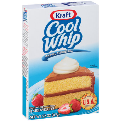 Cool Whip Whipped Topping Mix Export