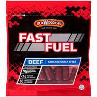 Old Wisconsin® Fast Fuel Beef Sausage Snack Bites 3.5 oz. Bag