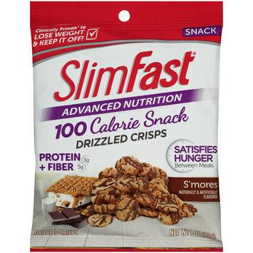 SlimFast® Advanced Nutrition 100 Calorie S'mores Drizzled Crisps 1 oz. Bag