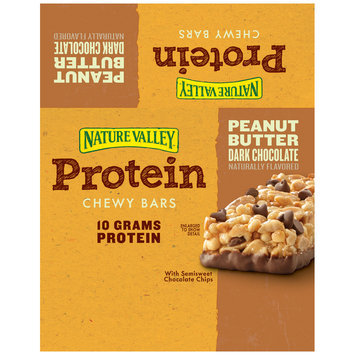 Nature Valley™ Peanut Butter Dark Chocolate Protein Chewy Bars 16 ct Box