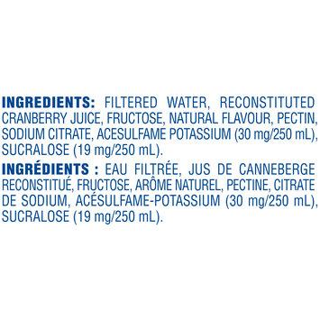 Ocean Spray® Low Calorie Cranberry Cocktail 1.89L Plastic Bottle