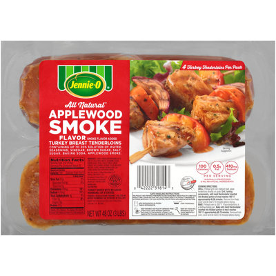 Jennie-O® Applewood Smoke Flavor Turkey Breast Tenderloin 48 oz. Pack