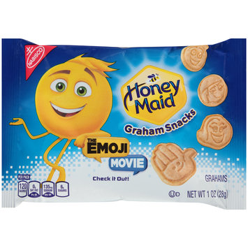 Nabisco Honey Maid The Emoji Movie Graham Snacks 1 oz. Pack