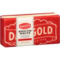 Darigold® Medium White Cheddar No Color Added Cheese 16 oz. Brick