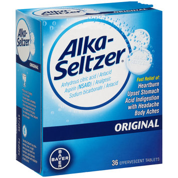 Alka-Seltzer® Original Effervescent Tablets 36 ct Box