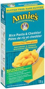 Annie's® Gluten Free Rice Pasta & Cheddar Macaroni & Cheese 6 oz. Box