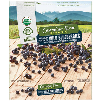 Cascadian Farm™ Organic Wild Blueberries 64 oz. Bag