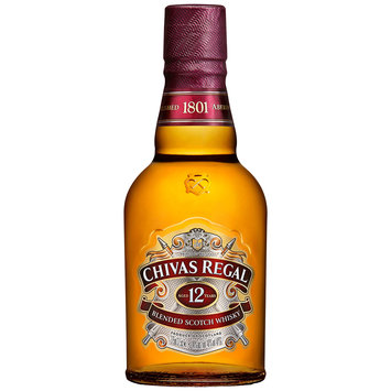 Chivas Regal Scotch Whisky Scotland 12 Yo Blended 375ml Bottle