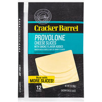 Cracker Barrel Provolone Cheese Slices 12 ct ZIP-PAK®