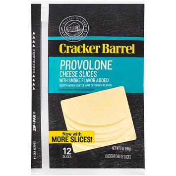 Cracker Barrel Provolone Cheese Slices 12 ct ZIP-PAK®