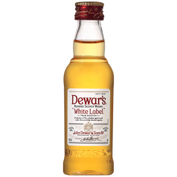 Dewar's® White Label Blended Scotch Whisky 50mL Bottle