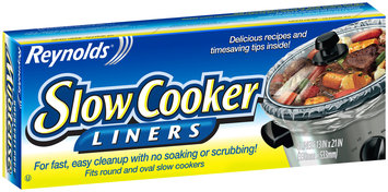 Reynolds® 13 x 21 in. Slow Cooker Liners 4 ct Box--Reynolds® Doublures pour Mijoteuse 330 x 533mm Boite de 4