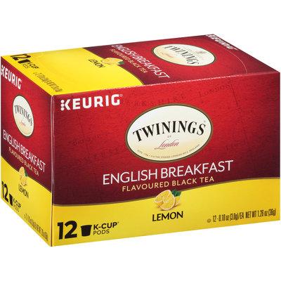 Twinings of London® English Breakfast Tea K-Cup® Pods 12 ct Box